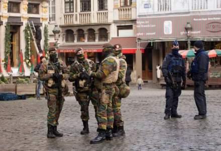 Noi violente la Bruxelles: Politia a arestat 50 de persoane