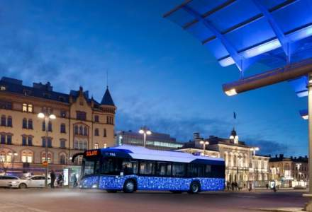 Autobuze electrice cu incarcare wireless, in Cluj-Napoca