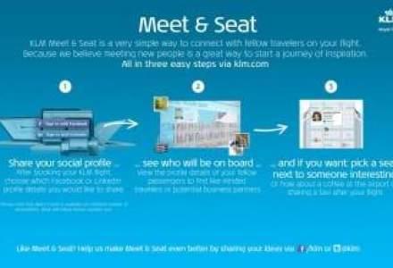 Pasagerii KLM vor afla daca prietenii lor de pe Facebook sunt in avion