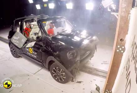 Euro NCAP a testat modele noi. Un SUV frantuzesc a primit 3 stele