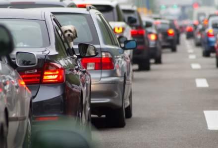 Aglomeratie pe DN1: Nervi in trafic pentru cei care au plecat in mini-vacanta de 1 Decembrie