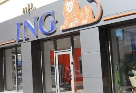 ING a avut in T4 un profit net in crestere puternica, dar sub estimari