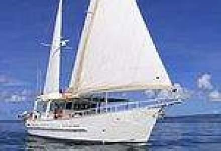 Yachtul se asorteaza cu omul de afaceri