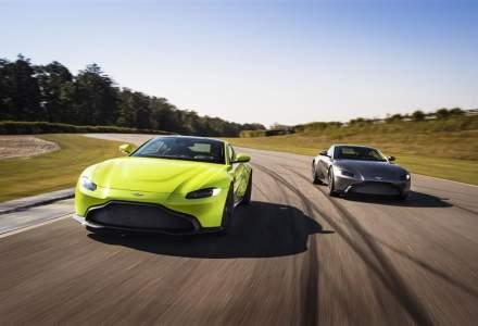 Aston Martin intra pe piata din Romania prin Forza Rossa, reprezentantul oficial Ferrari