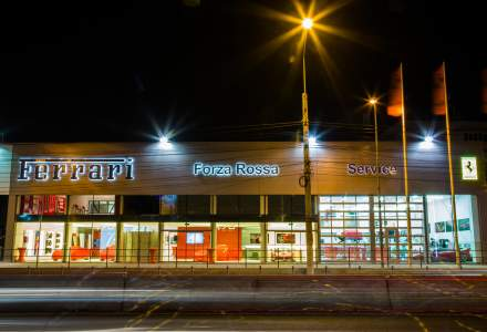 Forza Rossa a redeschis showroom-ul pentru brandul Ferrari din Otopeni