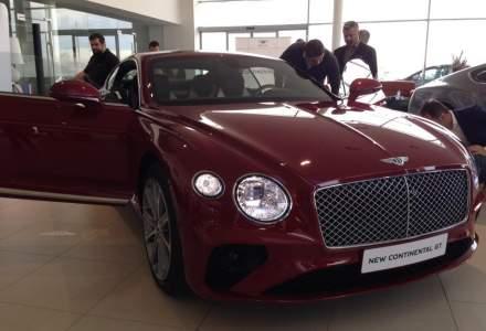 Bentley Continental GT a fost prezentat la Bucuresti