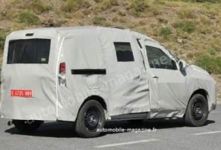 Poze spion cu Dacia Dokker, model fabricat in Africa