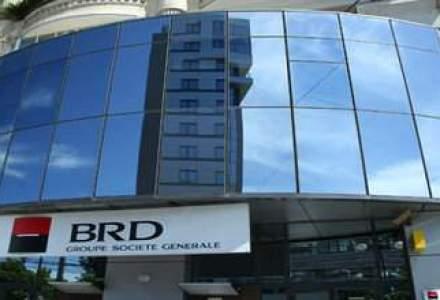 Profitul BRD a scazut cu 7% in 2011