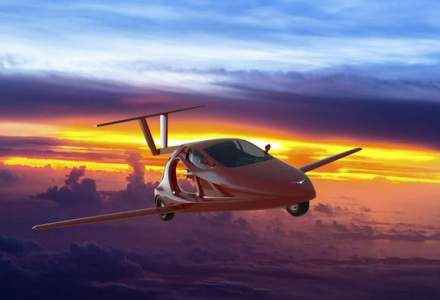 Americanii vor sa lanseze prima masina sport zburatoare in 2018