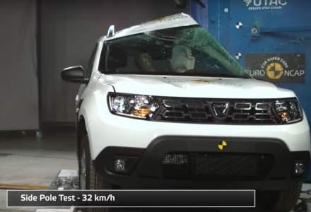 Dacia Duster nu obtine mai mult de 3 stele la EuroNcap nici cu a doua generatie
