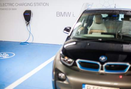 BMW instaleaza in Mall Baneasa doua statii de incarcare pentru automobile electrice