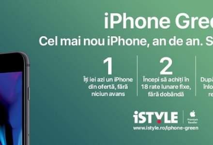 (P) iSTYLE lanseaza iPhone Green. Acum este mai simplu sa ai mereu cel mai nou iPhone