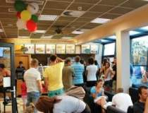 Lantul fast-food Subway intra...