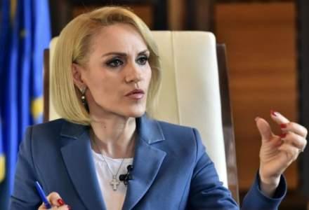 """Gabriela Firea: De 10 ori mai multi bani in """"circ"""" decat pe educatie"""