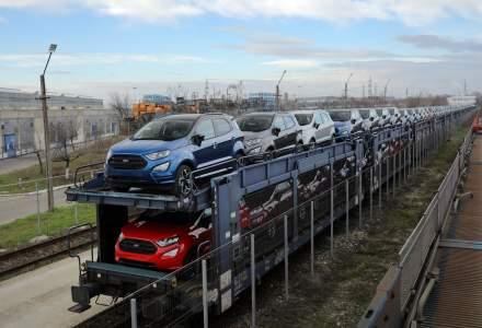 Ford Craiova asambleaza circa 400 de vehicule EcoSport pe zi. Productia este de doua ori mai mare fata de B-Max