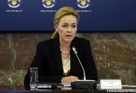 Carmen Dan, nici vorba de DEMISIE. Ministrul de Interne il ataca in schimb dur pe Mihai Tudose