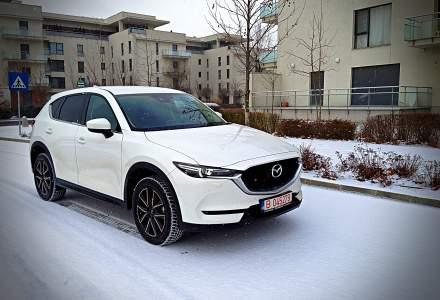 Test drive cu noul SUV Mazda CX-5 si cel mai puternic motor japonez - 2,5 litri 194 CP