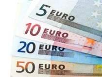 Euro a urcat puternic fata de...