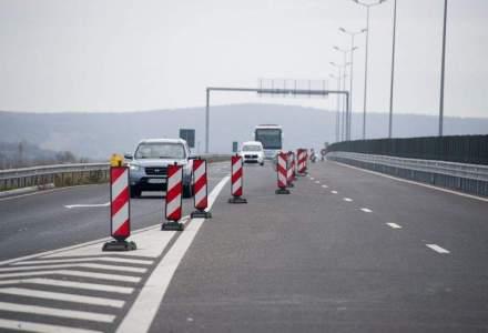 Receptia lotului 3 al Autostrazii Sebes-Turda, suspendata din cauza unor neconformitati