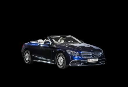 Ion Tiriac a adus un nou exemplar in colectia de automobile - Mercedes-Maybach S 650 Cabriolet