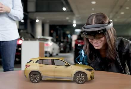 Romania - singura tara din regiune care gazduieste o prezentare holografica a noului BMW X2