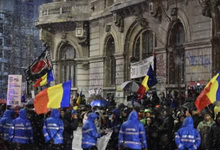 Proteste masive in aceasta seara in Bucuresti: 55.000 de oameni au iesit in strada