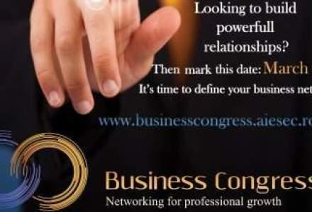 AIESEC organizeaza Business Congress, eveniment de networking dedicat tinerilor antreprenori