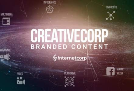 InternetCorp lanseaza divizia de branded content, CreativeCorp