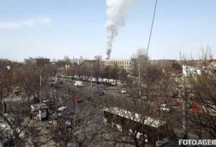 Incendiu la un depozit Turbomecanica din Capitala