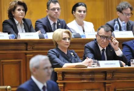 Guvernul Dancila a fost validat de Parlament