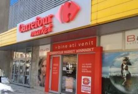 Profitul grupului Carrefour a scazut cu peste 14%