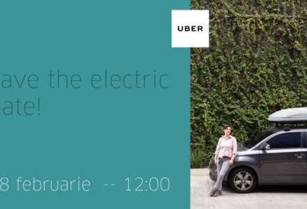 "Uber lanseaza ""serviciul electric"" de ridesharing in Romania"