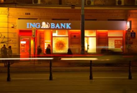 ING Bank Romania isi redefineste modelul operational din sucursale: banca va transfera depunerea clasica de la ghiseu in reteaua sa de 600 de ATM-uri
