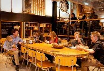 Starbucks deschide primul concept store din Europa. Vezi cum arata