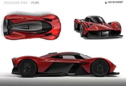 Aston Martin Valkyrie: cumparatorul si-a dorit praf de pe Luna in vopseaua masinii!