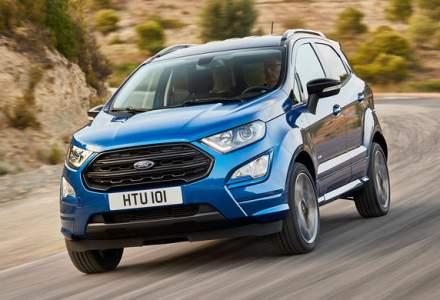 Preturi pentru noul Ford Ecosport in Romania: SUV-ul construit la Craiova porneste de la 15.400 euro
