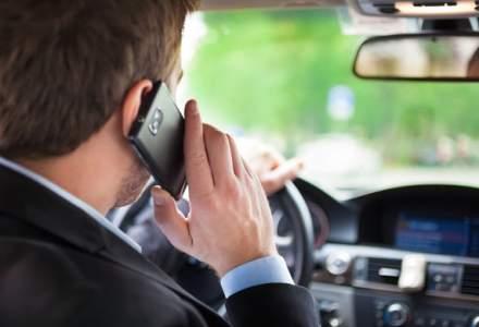Francezii interzic folosirea telefoanelor mobile in masini, chiar si cand acestea sunt trase pe dreapta