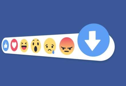 "Facebook confirma: Compania lucreaza la un buton de ""downvote"""