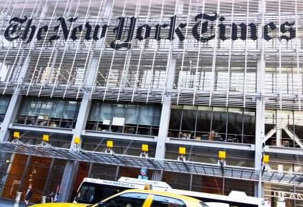 The New York Times a ajuns la peste 60% din venituri din abonamente
