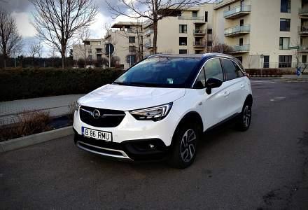 Test drive cu Opel Crossland X, un crossover bine echipat