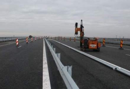 CNAIR: Inspectia in vederea receptiei pe lotul 4 al autostrazii Sebes-Turda ar putea fi facuta abia in martie