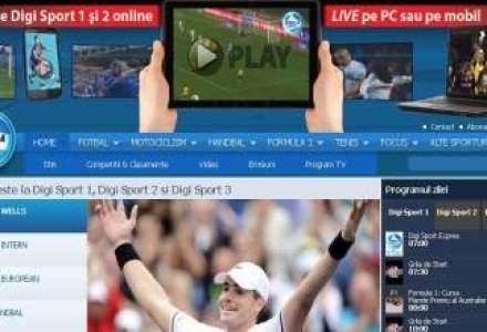 Abonatii RCS & RDS pot urmari online Digi Sport 1 si Digi Sport 2