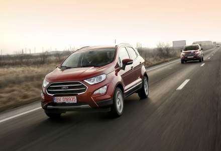 Test drive cu noul SUV Ford EcoSport fabricat la Craiova