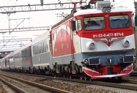 Angajatii CFR au protestat, nemultumiti de subfinantarea sistemului public de transport feroviar