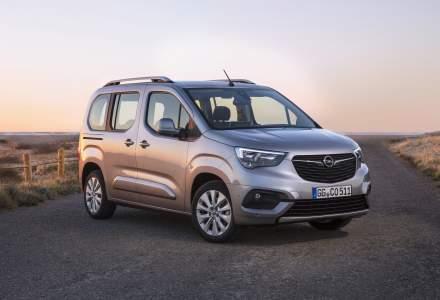 Opel a dezvaluit primele imagini cu modelul Combo Life