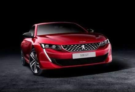 Noul Peugeot 508 scapa pe internet inainte de prezentarea oficiala: linii agresive si interior preluat de la SUV-ul 3008