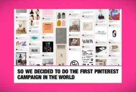Prima campanie publicitara pentru Pinterest