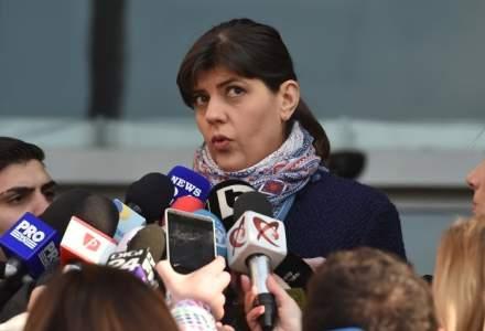 Laura Codruta Kovesi prezinta bilantul activitatii DNA in 2017. La sedinta participa presedintele Iohannis, insa nu si ministrul Justitiei