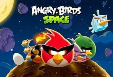 Ba e, ba nu e: Angry Birds Space vine si pe Windows Phone