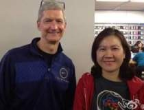 Tim Cook, seful Apple, a...